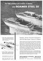 Roamer Steel Regal Boat 1959 Ad Picture