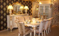 Sandalye sırtlarında hiç ahşap motif kulanılmadı. Bu da kullancıya mükemmel bir konfor sağlıyor. http://www.asortie.com/yemek-odasi-125-Bayer-Klasik-Yemek-Odasi