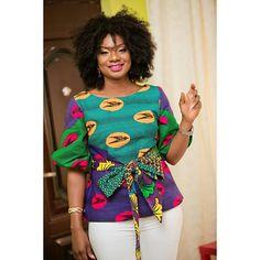 Instagram Latest African Fashion Dresses, African Print Dresses, African Print Fashion, Africa Fashion, African Dress, African Blouses, African Tops, African Attire, African Wear