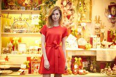 Kolekcja Świąteczno-Karnawałowa 2015 Carnival 2015, Christmas Carnival, Short Sleeve Dresses, Dresses With Sleeves, Collection, Fashion, Moda, Sleeve Dresses, Fashion Styles