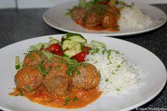 Kristins Middagstips: Lammekjøttboller i kremet tomatsaus
