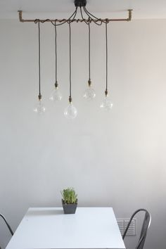 10 ways to customize the ikea maskros pendant light pendant pipping to hang ikea nittio lights mozeypictures Choice Image