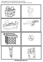 rijmwoorden naast elkaar plakken: pak – zak, boot – pepernoot, schoorsteen – peen, sint – kind