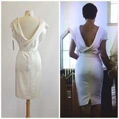 Claire Underwood vow renewal dress at Xtabay.