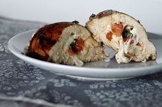 Mmmm, Bruschetta stuffed chicken