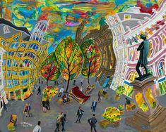 Signed Limited Edition of 25 Fine Art Giclée Print of St. Ann's Square East, No. 4 by Michael Gutteridge Original Art, Original Paintings, Manchester Art, Paintings I Love, Unique Art, Wood Art, Buy Art, Giclee Print, Saatchi Art