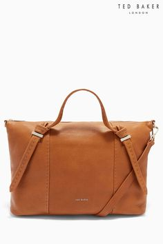 Buy Ted Baker Oellie Tan Handbag from the Next UK online shop Tan Handbags, Handbags On Sale, Luxury Handbags, Leather Handbags, Handbags For School, Ted Baker Bag, Satchel, Crossbody Bag, Purses For Sale