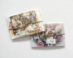 Valerie Chua Watercolour Postcards