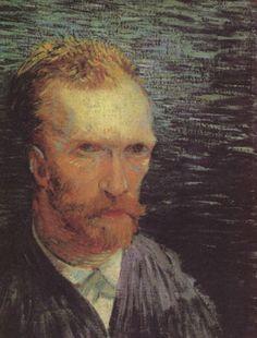 「自画像」(1887年)