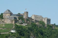 Rheinfels Castle, St Goar, Germany. we ate lunch in this castle..with Lisa Babbitt and her father