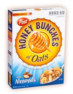Need the Family or Giant size because these go dangerously fast. In yogurt, by the handful, etc - Honey Bunches of Oats with Almonds