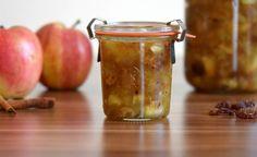 Herbstliches Bratäpfelchen im Glas (Werbung)