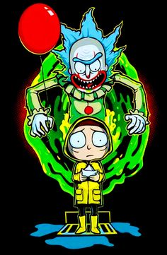 Rick and Morty Wallpaper. Lovely Rick and Morty Wallpaper. Rick and Morty Wallpaper iPhone Cartoon Wallpaper, Dragonball Anime, Rick And Morty Crossover, Es Pennywise, Rick And Morty Drawing, Rick Und Morty, Rick And Morty Poster, Cartoon Art, Clowns