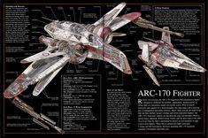 ARC-170 Starfighter. One of my favorites.