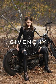 parasoli: stella lucia by mert and marcus for givenchy spring 2015.