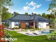 Projekt domu w gruszach na @Behance Zapraszamy do obejrzenia! :)