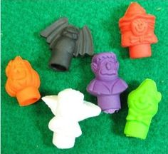Halloween Pencil Top Erasers