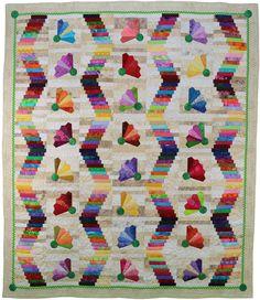 "Badminton Anyone? quilt pattern, 69 x 78"", at Presto Avenue Designs"