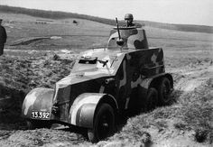 The Czechoslovak OA vz30-32 armored car was produced in only 53 units. Taken over by the Germans, the OA vz30-32 was redesignated PzSpr-30 / T. Fifteen of these cars were lost during the Polish invasion. The rest served with German army propaganda companies during the war. There are no known surviving specimens.