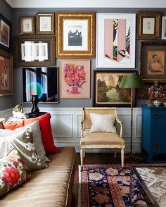 Апартаменты в Нью-Йорке. #KleinReid #interior #design #decoration