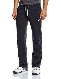 Women's Nike Club Swoosh Open Hem Pants Black/White Size Medium - http://best-women-shop.xyz/2016/06/22/womens-nike-club-swoosh-open-hem-pants-blackwhite-size-medium/