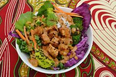 Vegan Magic Time: Spicy Asian Tofu Bowl