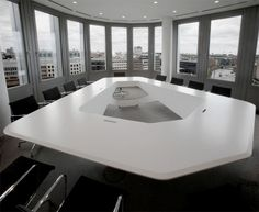 Conference Table for Ernst & Young Boardroom by KINZO
