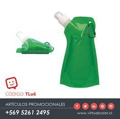 Artículos Promocionales - Productos Publicitarios - Botella de agua flexible