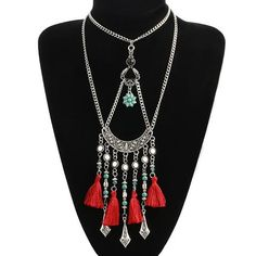 Romeazz Tassel Necklace