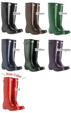 【楽天市場】50%OFF!!【送料無料】【箱付き・定番人気】【Hunter-ハンター-】Original Tall Rain Boot-ハンターオリジナルトールレインブーツ[W23711/W23499](ラッピング不可)[レディース・レインシューズ・ラバーブーツ・セレブ愛用]:LaG OnlineStore 楽天市場店