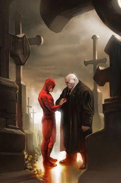 Daredevil and the Kingpin