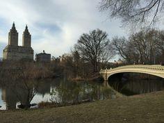 #Central Park #Bow Bridge #New York City #NYC #tourism #travel