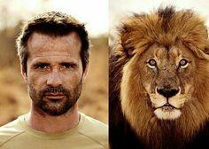 Kevin en Suja the lion