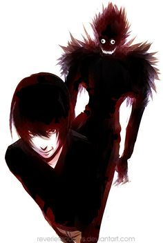 Death Note by =keerou on deviantART (pretty creepy? only when you first watch ...maybe)