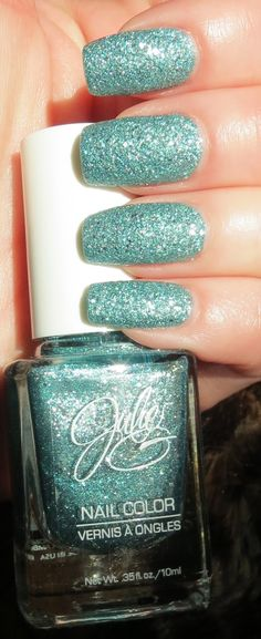 Julie Gs Frosted Gum Drops Rock Candy Manicure