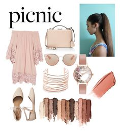 """""""Picnic pinks"""" by amica-theunissen on Polyvore featuring Muche Et Muchette, Christian Dior, Mark Cross, Gap, Olivia Burton, Hourglass Cosmetics, tarte and Alexis Bittar"""