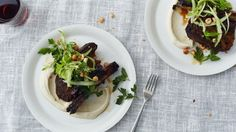 Roasted Short Ribs with Cauliflower and Celery Recipe | Bon Appetit