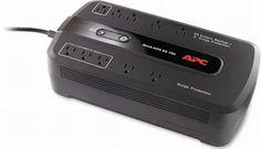 APC Battery Backup & Surge Protector (BE750G) - 750VA 10-outlet Uninterruptible Power Supply (UPS)