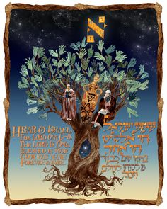 The Shema: To The Oneness Of The Source Of Life by Ilene Winn-Lederer, from her book An Illumination of Blessings