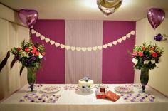 Explore 6 Dicas para Decoração de Noivados simples, use seu bom gosto e faça uma belíssima decoração nesse dia tão especial na vida da noiva.