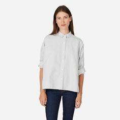 Women's Japanese Oxford Square Shirt   Everlane