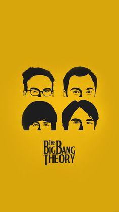 !!TAP AND GET THE FREE APP! Movies The Big Bang Theory Poster Yellow Art Unicolor Sheldon Leonard Raj Howard TV Show Sitcom Comedy Mustard Simple Howard HD iPhone 6 plus Wallpaper