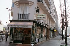 Paris Avenue Gambetta Boulanger-Pâtissier 2 by paspog, via Flickr