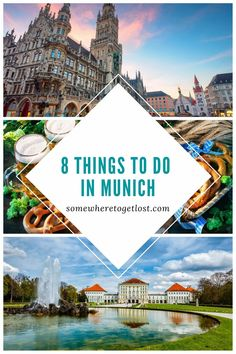 Here are 8 of the best things to do in Munich!#Munich #Germany #GermanyTravel #EuropeTravel #MunichGermany #CityTravel #CityGetaways Cities In Germany, Visit Germany, Munich Germany, Germany Travel, Road Trip Europe, Backpacking Europe, Europe Travel Tips, Travel Destinations, European Vacation