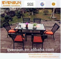 2014 hotsale de mimbre de aluminio outdoor línea de jardín muebles de jardín de ratán sintético