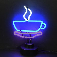 "Shine brighter with our Neon Sculptures! Each of our stand up Neon Lights will fill your home or business with a fun and stylish flare. - Dimensions: 12"" Wide x 17"" Tall x 6"" Deep - All you do is plug"