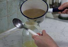 domácí sirup na odstranění přebytečné vody v těle