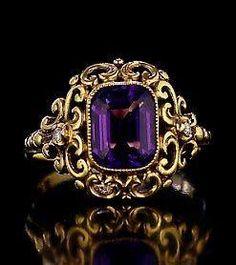 Druid gold ring