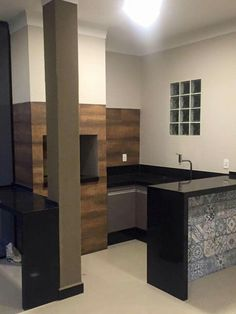 Churrasqueira Patio, Backyard, My Dream Home, Corner Desk, Architecture, Kitchen, Room, Furniture, Home Decor