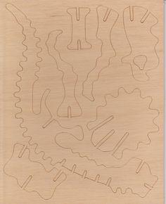Giant Cardboard DinosaurPuzzle